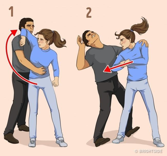 7 Self-Defense Techniques for Women Recommended by a Professional Hayatta Kalma Ipuçları, Haya...jpg