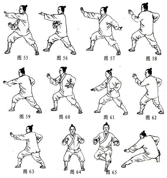 All for Kung Fu, Tai Chi & Martial Arts — Traditional Chinese Tai Chi Chuan Movements Fresco J...jpg