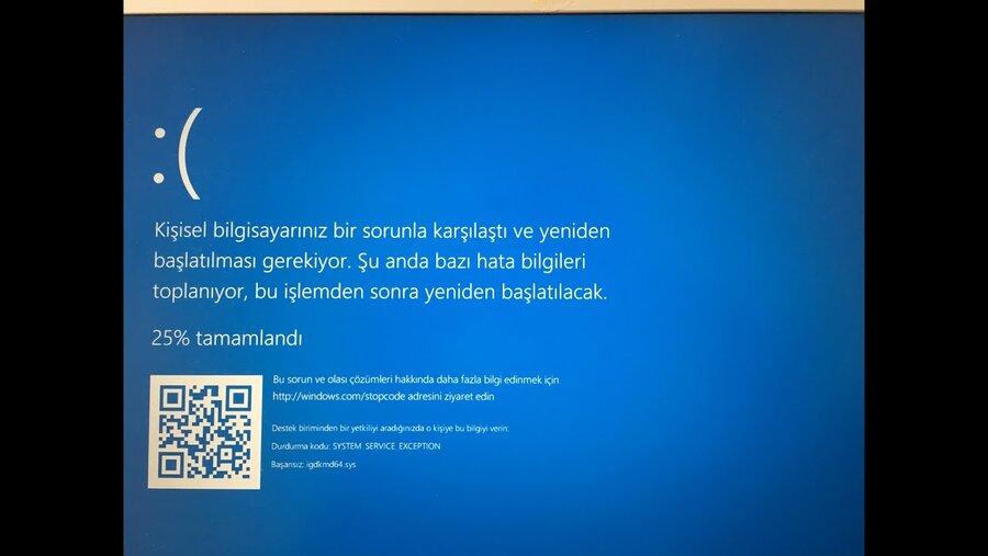 Mavi ekran